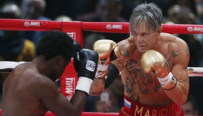 Mickey Rourke Makes A Boxing Come Back At 62 rourke web thumb
