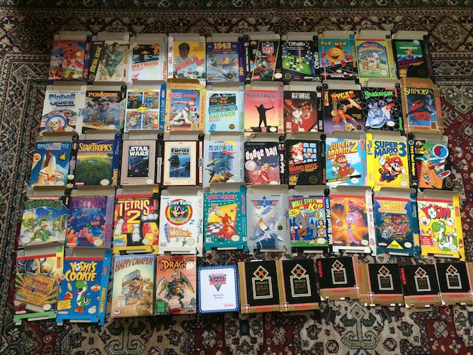 This Guy Is Selling Every Single Original Nintendo Game Ever Made xp4nhy7gn6juwq8w4cym