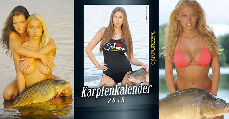 This Calendar Dedicated To Carp And Naked Women Is A Real Thing 156