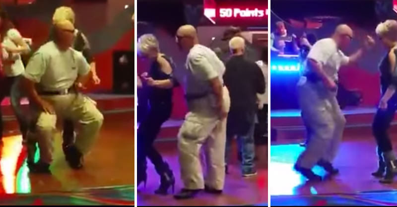 Old Guy Absolutely Kills It On The Dance Floor To Push It By Salt N Pepa 16