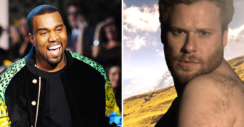 Kanye West Rapped The Whole Of His New Album To Seth Rogen In A Limo 162