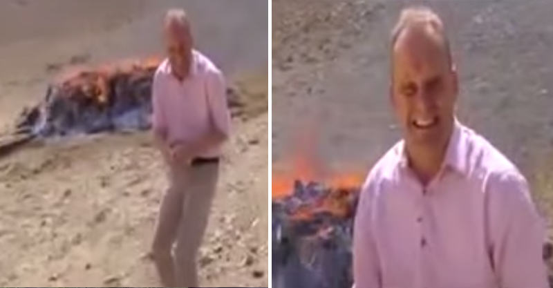 BBC Reporter Gets High, Cant Stop Laughing Next To Drugs Burnout 174