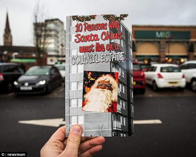 Clintons Face Backlash For 10 Reasons Why Santa Is From A Council Estate Card 23D83CD500000578 0 image a 29 1417969557971