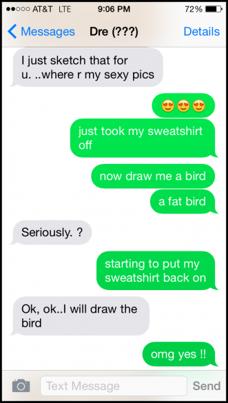 Lad Gets Trolled Into Swapping Animal Sketches For Nudes 4
