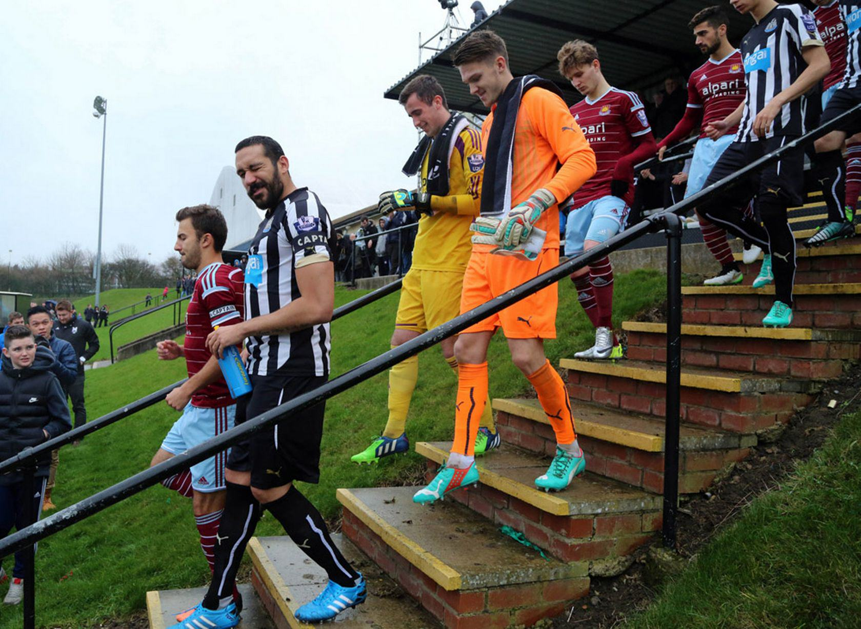 Gutierrez Makes First Newcastle Appearance Since Recovering From Cancer Jonas Gutierrez 1