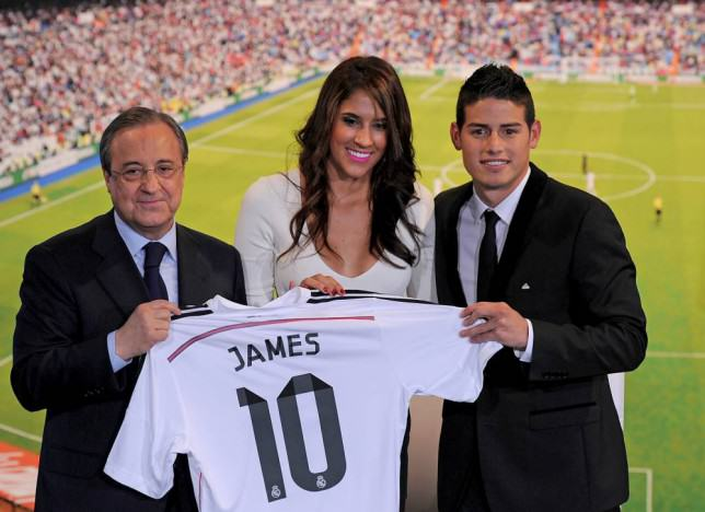 James Rodriguezs Wife Has Plastic Surgery After Real Madrid Fans Call Her Ugly ad 153441691 e1417542070424