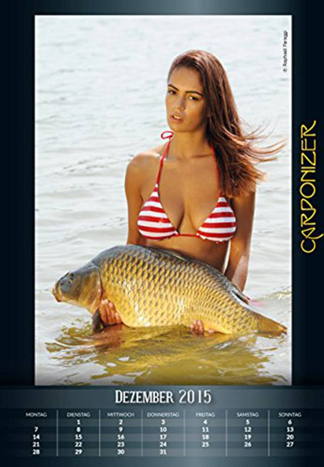 This Calendar Dedicated To Carp And Naked Women Is A Real Thing ad 154006991