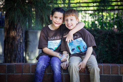 Little Lad Raises $1M To Help Research Best Mate's Incurable Disease ad 154847526