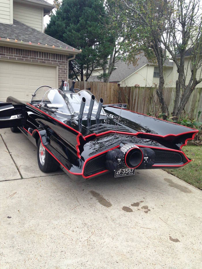 Man Completes Batmobile After 9 Years Of Work bat12