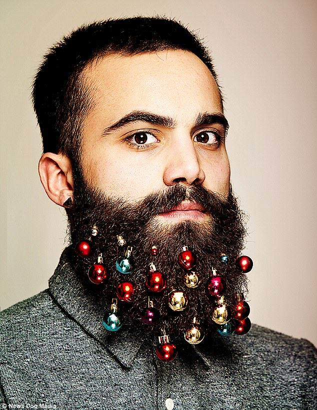 Beard Baubles Are The Latest Fashion Accessory For Hipsters This Christmas baubles 1
