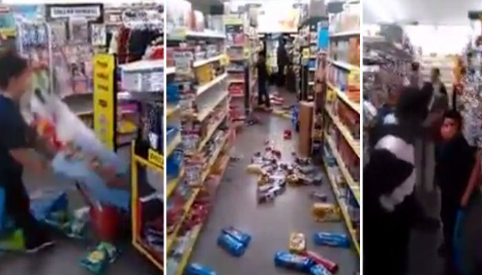 Little Kid Completely Destroys Everything In An American Dollar Store brat web thumb