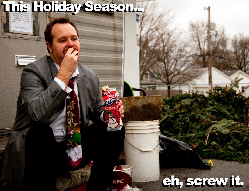 This Guy Sends Out Ridiculously Inappropriate Christmas Cards Every Year card 4 2011