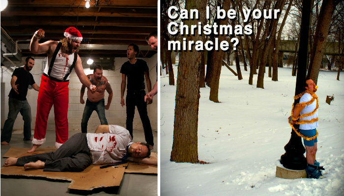This Guy Sends Out Ridiculously Inappropriate Christmas Cards Every Year cards web thumb