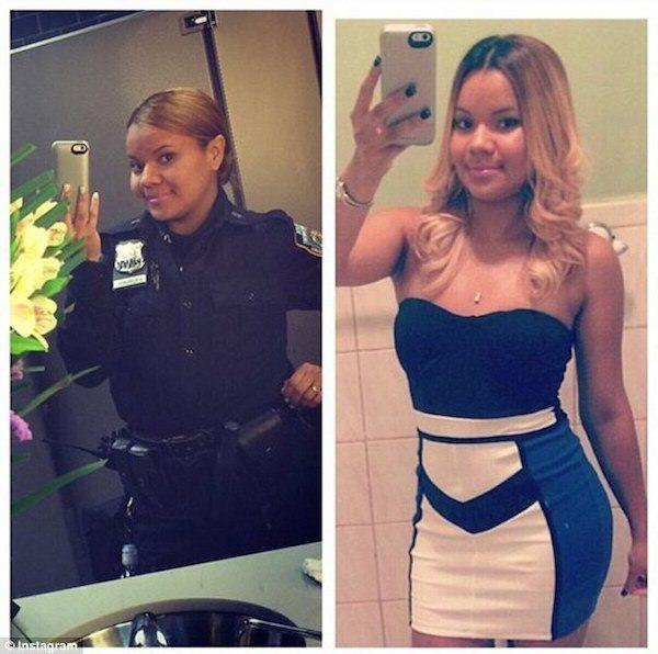 Female New York Cops In Trouble For Taking Sexy Selfies  cop 1