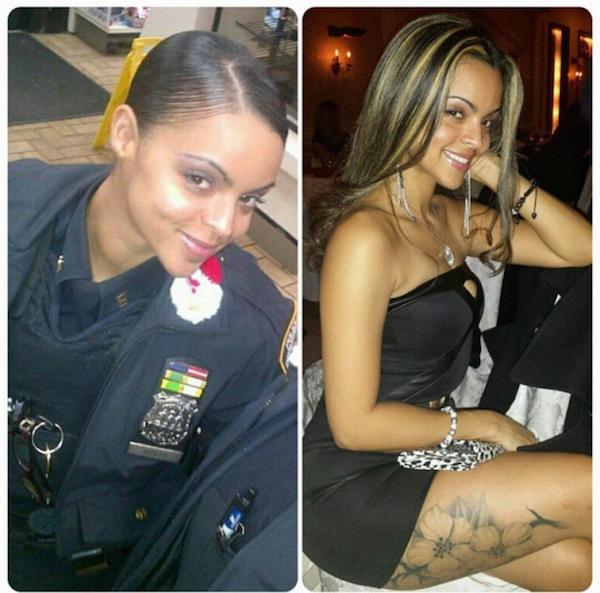 Female New York Cops In Trouble For Taking Sexy Selfies  cop 2