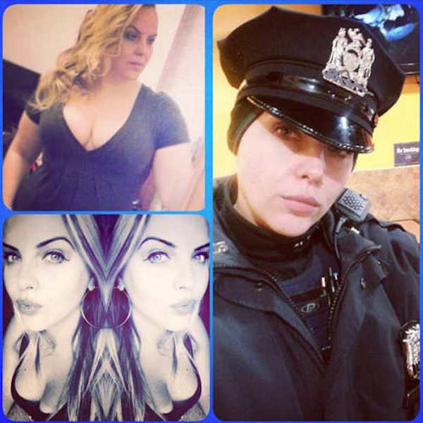 Female New York Cops In Trouble For Taking Sexy Selfies  cop 4