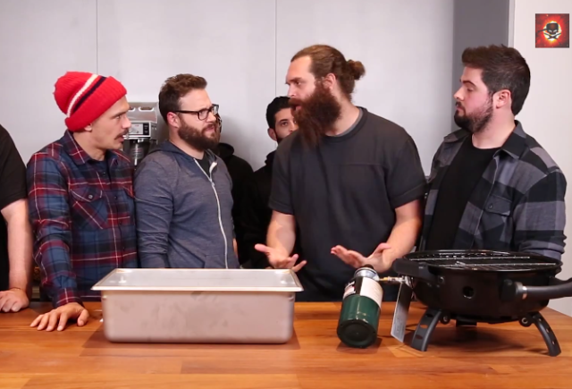 Seth Rogen And James Franco Join Epic Meal Time, Create Whopping Korean Lasagna epic meal time seth rogen james franco korean bbq
