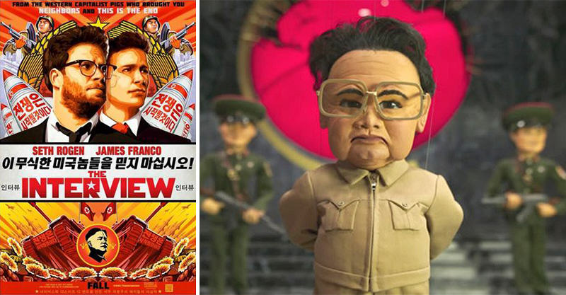 Dallas Cinema Replaces The Interview With Team America Because F*ck You Kim Jong fbthumb5