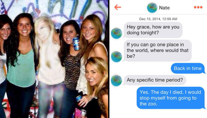 Girl Pretends To Be A Ghost On Tinder And Its Hilarious ghost web thumb