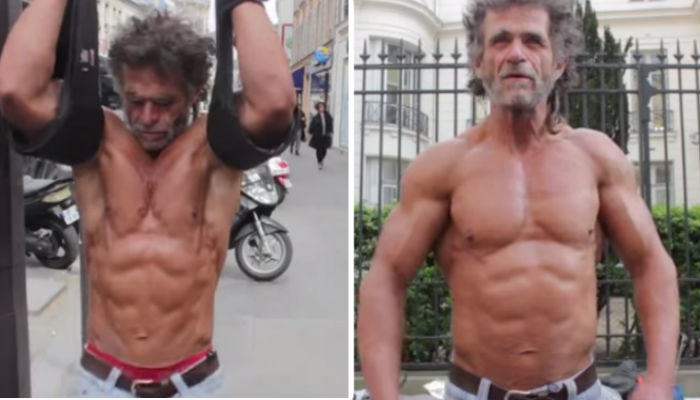 This Guy Is 50, Homeless And Totally Ripped homeless web thumb
