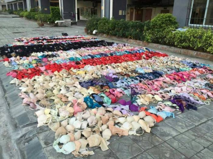 Lingerie Thief Caught When Ceiling Falls Through From Weight Of Underwear lingerie thief 3 e1419367820446
