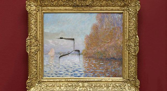 Man Punches Hole Through £8 Million Monet Painting, Gets 5 Years In Prison monet