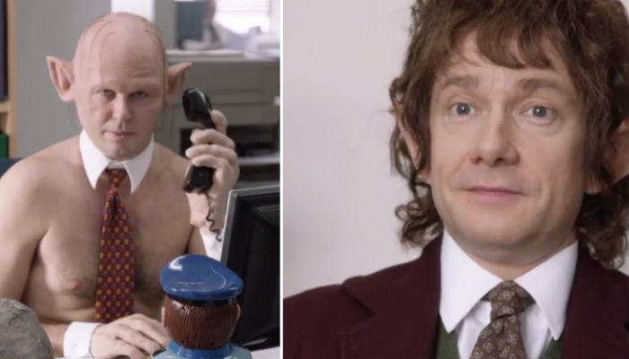 Martin Freeman Returns To The Office As Bilbo Baggins office web thumb