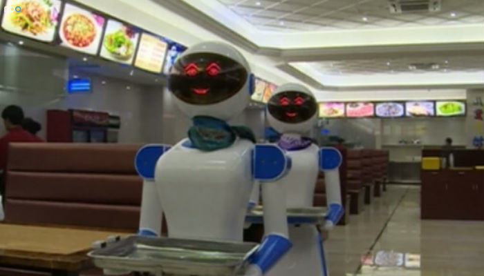 This Restaurant In China Is Replacing Waiters With Robots robot food web thumb