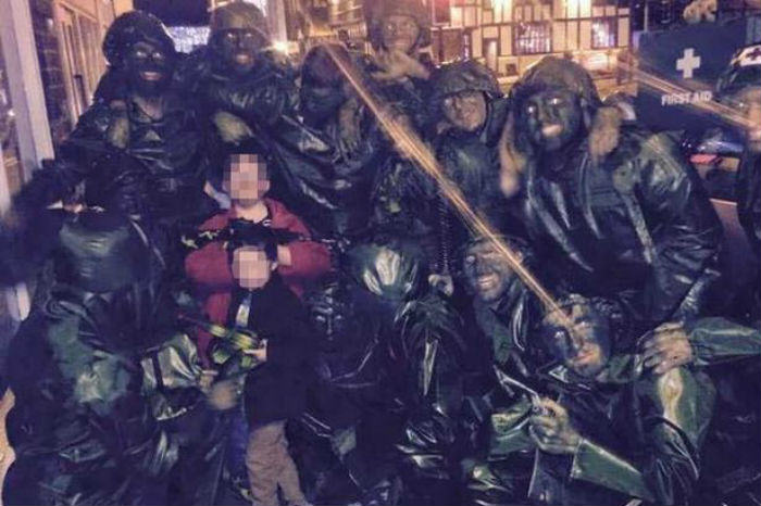 Stag Do Toy Soldiers Storm Nandos, Get Mistaken As Terrorists toy soldiers