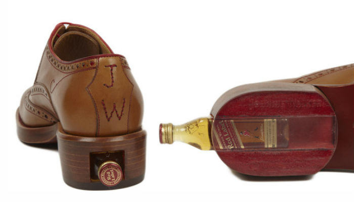 Now You Can Buy Shoes To Hide Your Whisky  walker web thumb