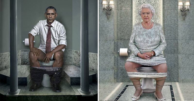 World Leaders Doing A Poo Because Why Not 129