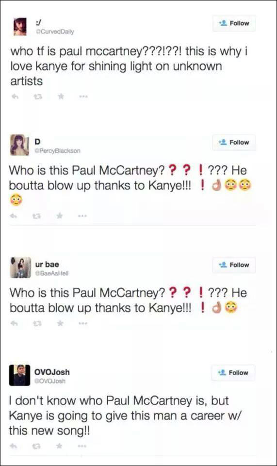 Paul McCartney: Everything You Need To Know About Kanyes New Prodigy 14