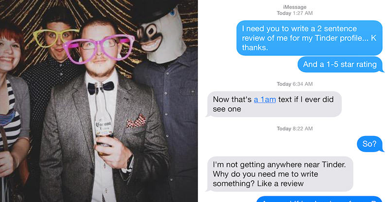 Lad Gets Exes To Write Honest Reviews For His Tinder Profile 172