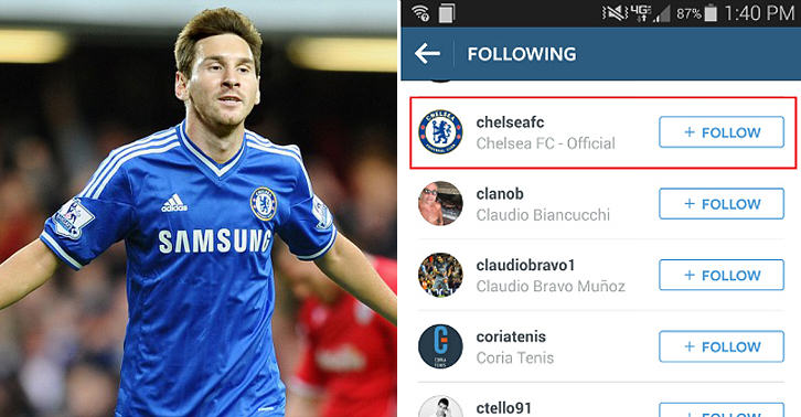 Messi And Wife Hint At Chelsea Switch On Twitter And Instagram 19