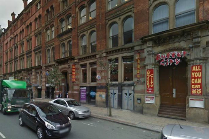 Police Attend 999 Call Over A Kick Off In A Chinese Buffet Buffet City on Great Portland Street in Manchester