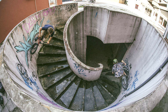 BMX Riders Pull Of Awesome Curved Wallride Trick Curve2