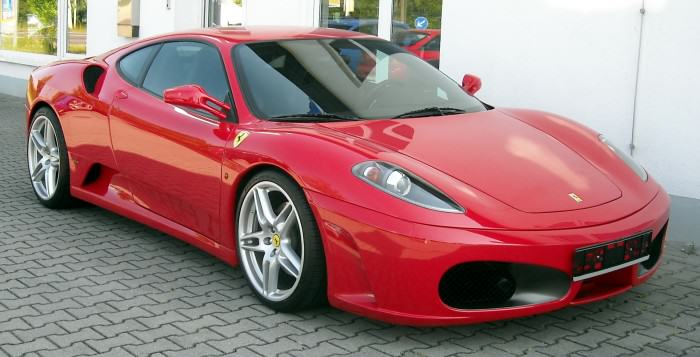 Copper Turns Up To Work In Ferrari Paid For With Dirty Money Ferrari F430 front 20080605 e1421000523526