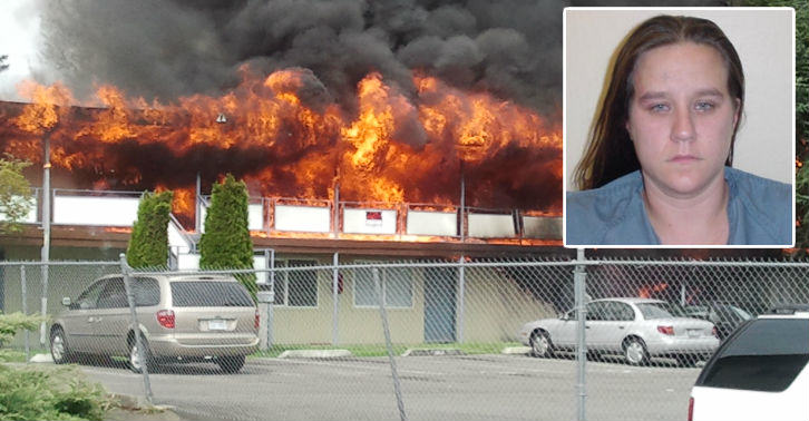 Woman Named Jackie McBurnie Arrested For Arson, Obviously MacBurnie fb thumb