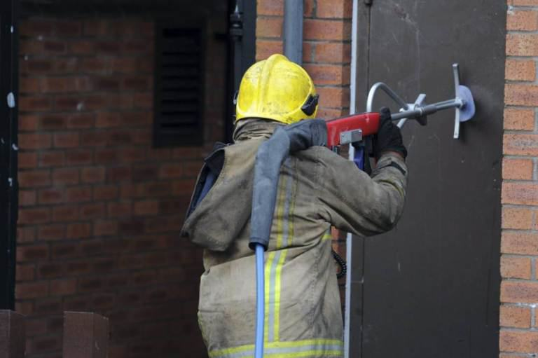 New Firefighting Device Can Blast Through Walls In Seconds ad 156692331