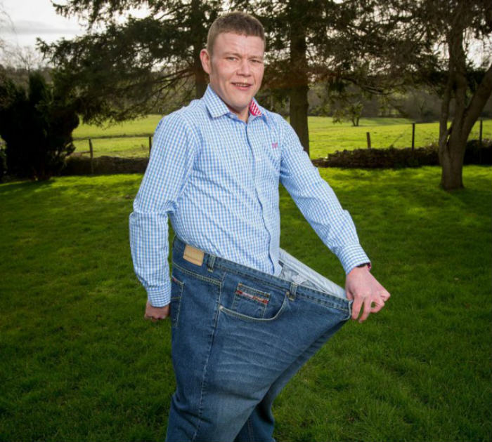 Lad Loses 21 Stone Because His Mate Called Him Fat Every Day ad 158165383 e1422467116589
