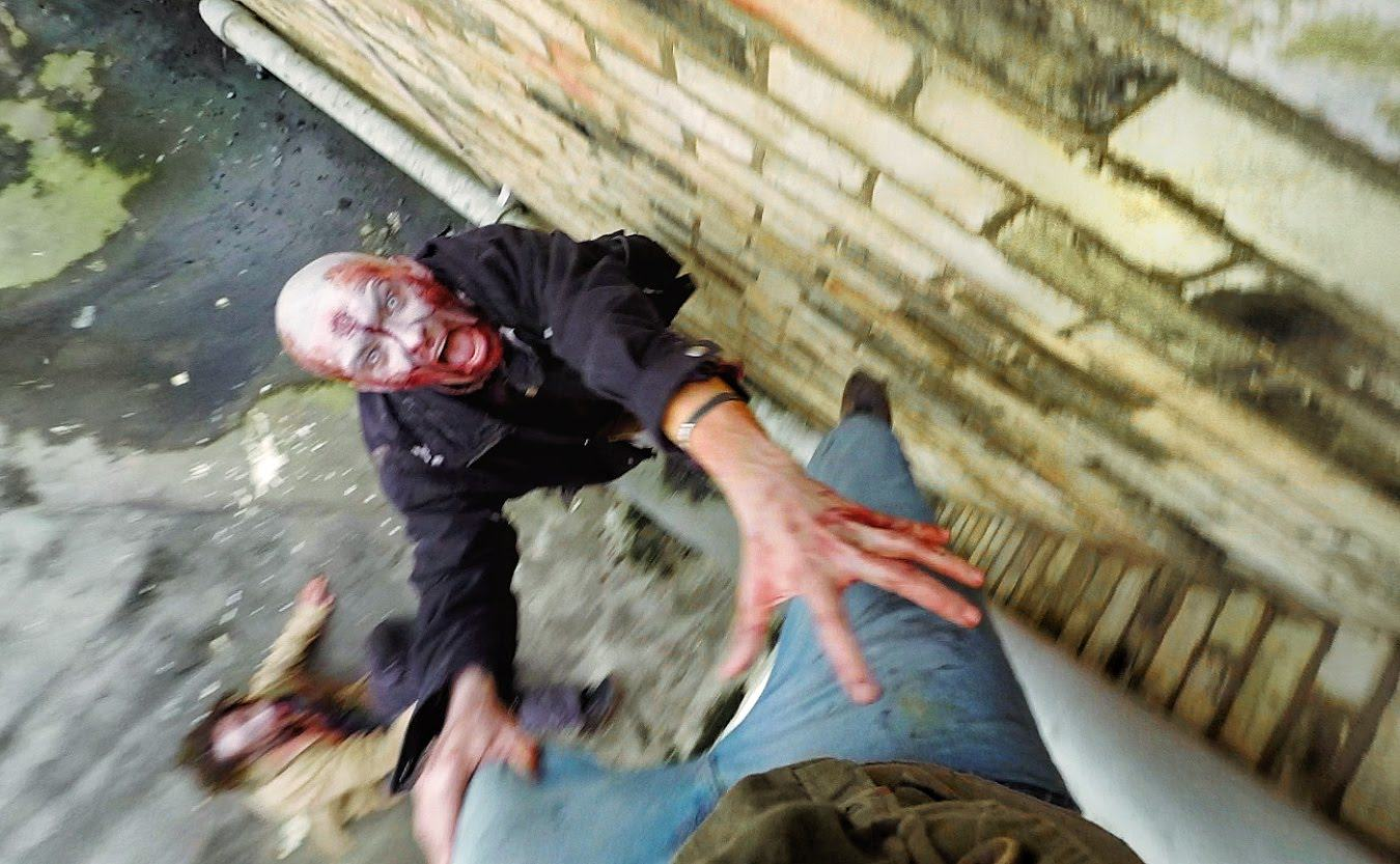 Amazing GoPro Video Of Zombie Escape On Cambridge Rooftops amazing gopro video of zombie es