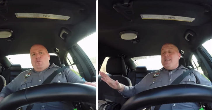 American Cop Caught Singing Taylor Swift On Dash Cam cop fb thumb