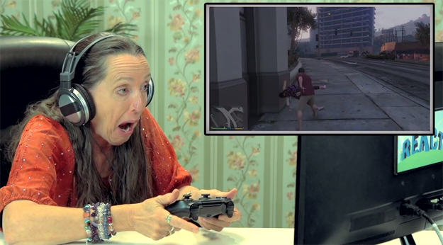 Old People Playing Grand Theft Auto V Is Hilarious eldars gta v