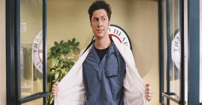 This Lad Dressed Up And Fooled Doctors And Patients For A Full Month jd scrubs e1421542639516