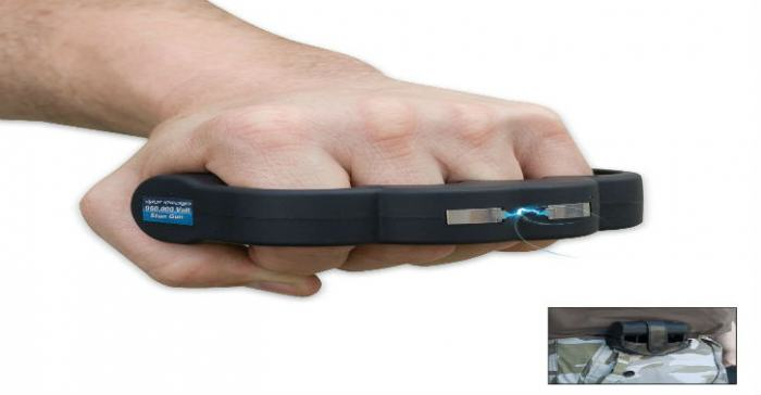 Amazon Is Selling These Bonkers Knuckleduster Tasers knukles e1420328819943