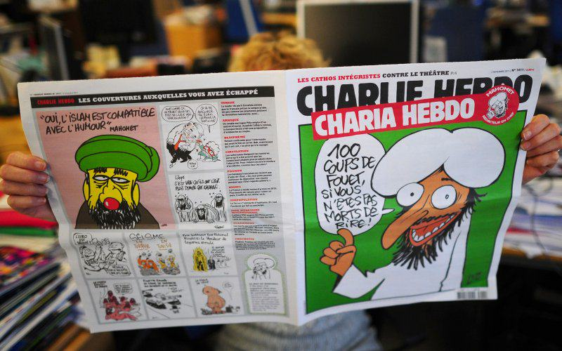 Charlie Hebdo Will Print Cartoon Muhammad In Next Issue muhammed