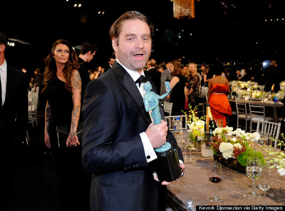 Zach Galifianakis Was Almost Unrecognisable At The SAG Awards o ZACH GALIFIANAKIS 570