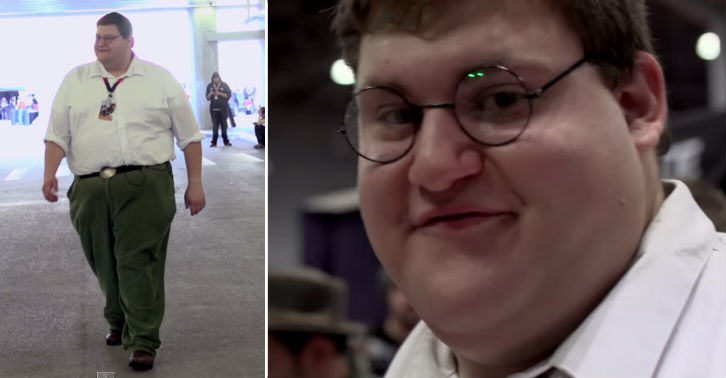 Real Life Peter Griffin Attends New York Comic Con peter fb thumb