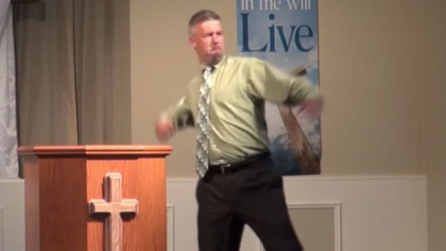 Pastor Knocked Out Kid That Didnt Believe In God qkyrj5rodbcot3kxil7q