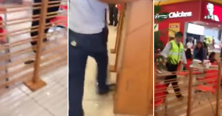 Video Shows KFC Customers Scattering From Rats rat fb thumb